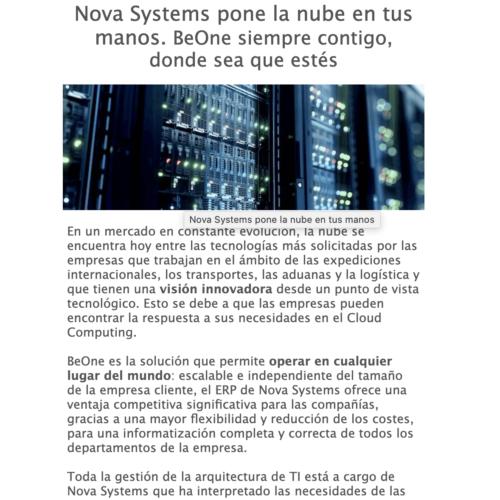 Nova News Marzo Spa